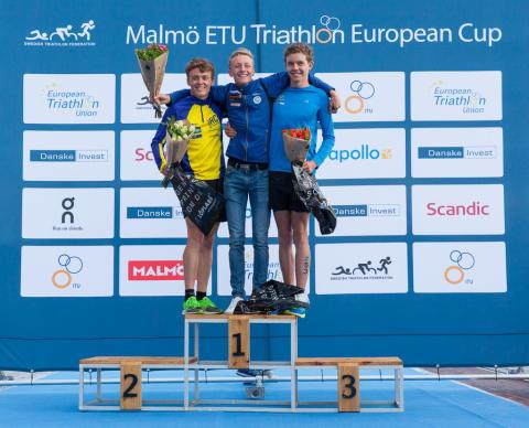 Vinnare Junior Danske Invest Triathlon Series
