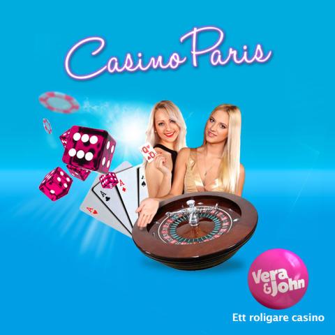 Vera&John öppnar Live Casino i Europa