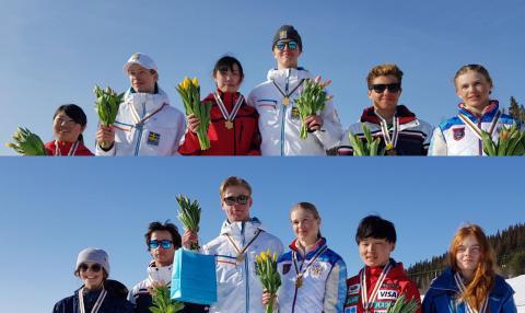 Tre JVM-medaljer för de svenska puckelåkarna