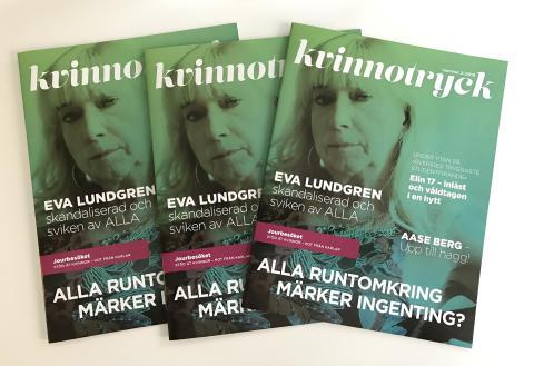 Professor Eva Lundgren om att bli sviken och skandaliserad - stor intervju i Kvinnotryck 2/2019