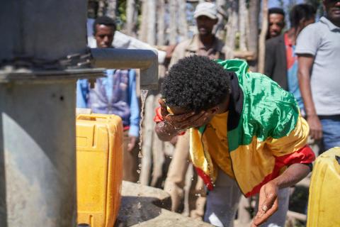 Mit Viva con Agua in Äthiopien