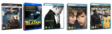 Nyheter på Blu-ray, Blu-ray UHD & DVD i juni från Universal Sony Pictures Home Entertainment