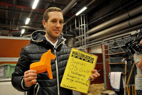 Daniel Zetterman tror på OS-guld