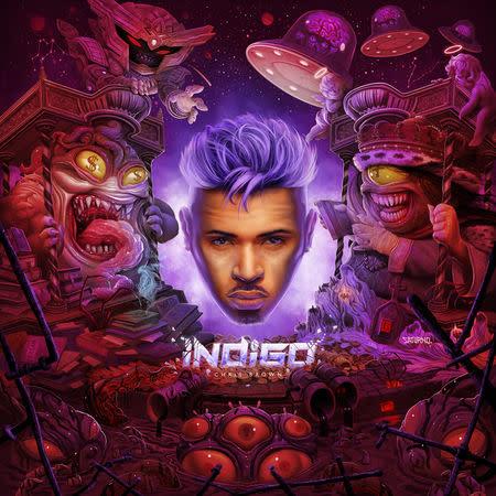 Chris Brown släpper 33-spåriga albumet Indigo