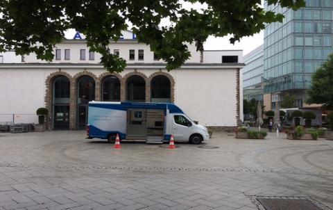 Beratungsmobil der Unabhängigen Patientenberatung kommt am 13. Februar nach Siegen.