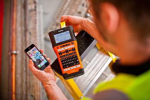 Nå kan håndverkere skrive ut etiketter fra sin smarttelefon