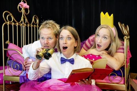 Prinsesskalas och teaterpremiär på Junibacken 7/9!
