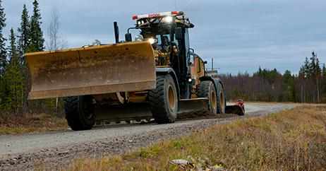 Bättre väg mellan Brännland – Strömåker, i Bjurholm kommun