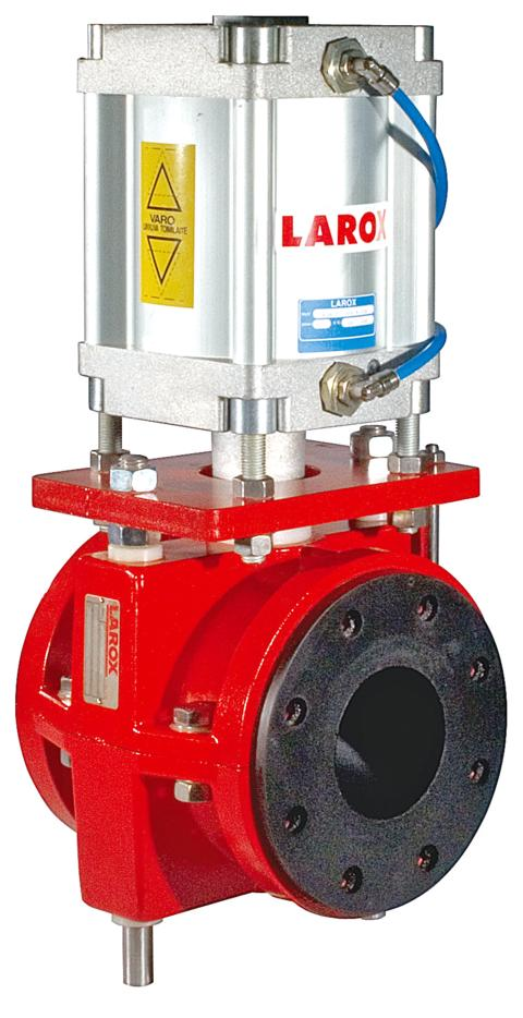Larox Flowsys Valves Take Flow Control Technology to New Heights
