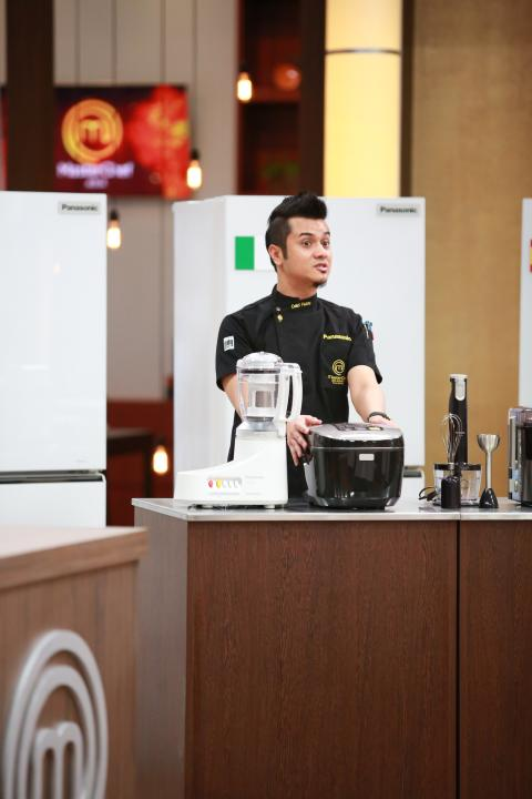 MasterChef Asia Episode 6 Special Guest Mr Dato Fazley - Introducing Panasonic's Appliances