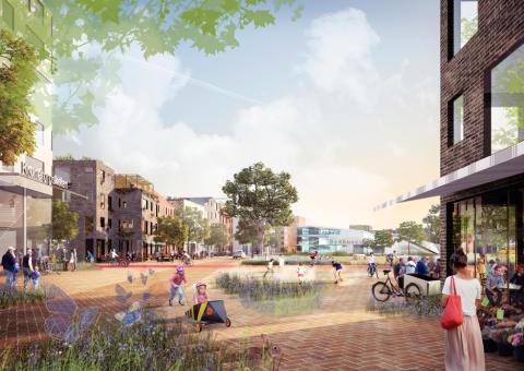 Nyréns vann stor stadsbyggnadstävling i Burlöv!