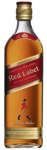 JOHNNIE WALKER® RED LABEL, 70 cl 40,0 Vol %