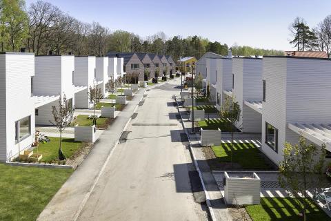 Nya småhusområdet i Lilla Sköndal är slutsålt