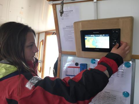 High res image - Raymarine - Ocean Youth Trust's 'Prolific' Re-fitted with the Latest Raymarine Technology