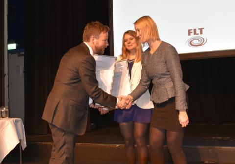 Kunnskapsministeren delte ut FLTs utdanningspris