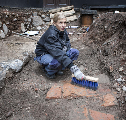Arkeologiska fynd i Gamla Stan