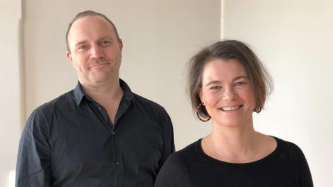 Andreas Thorén och Anna-Maria Petisme