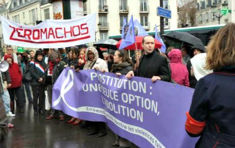Fransk strategi mot sexköp mobiliserar män