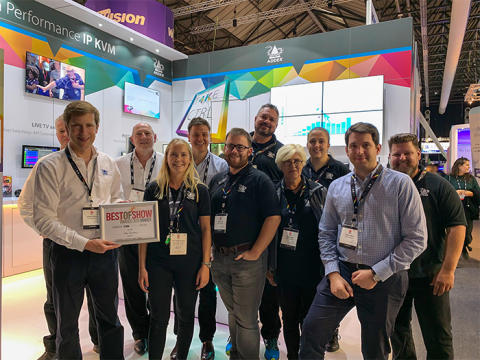 Adder Innovation Recognised With Fourth Award For The ADDERLink INFINITY 4000 Series