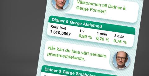 Smart Refill lanserar Fondapp med Didner & Gerge