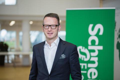 Schneider Electrics svenska vd tillträder ny roll med ansvar för norra Europa