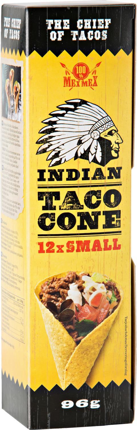 Indian Taco Cone