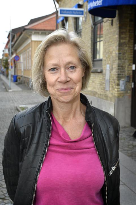 Viveka Hedbjörk chefsredaktör Hallans Posten och Hallands Nyheter