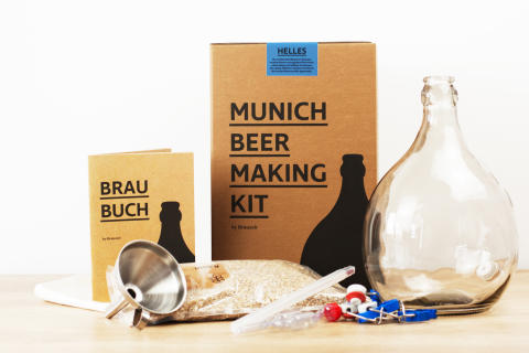 The Munich Beer Making Kit by Brauzeit: Traditionelles Brauen nach Münchner Rezeptur