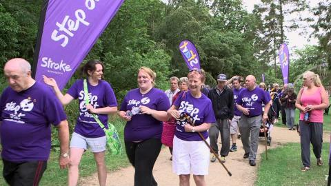 Step Out in Plymouth to support stroke survivors