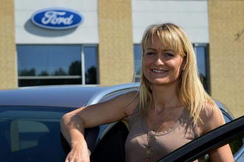 ORESUND RALLY 2012 - Lene Dahlquist
