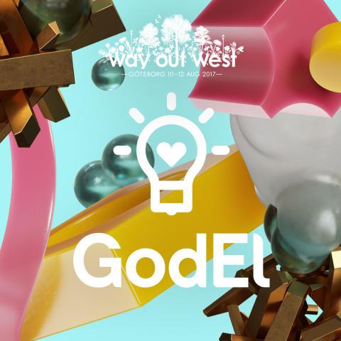 GodEl levererar el till Way Out West för tredje året i rad