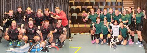 Peking Players och Tempo vann Nyköpings kval i Sweden Floorball Cup