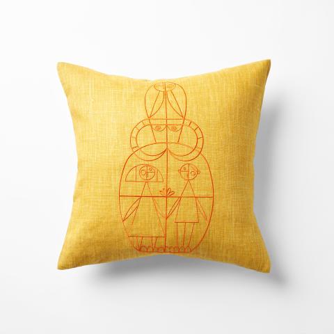 Pillow yellow, Via Sallustiana