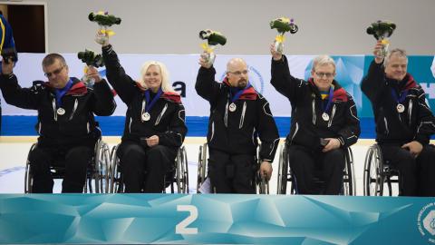 VM-silver till Sverige