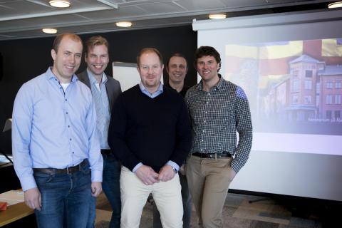 Mariehamn viser frem nytt strømmålingssystem