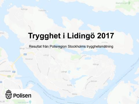 Trygghet i Lidingö 2017
