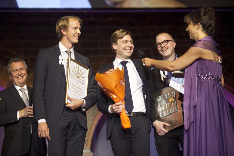 Årets Unga Företagare 2012
