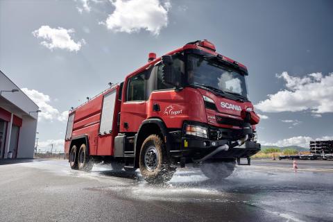 Scania P 500 XT