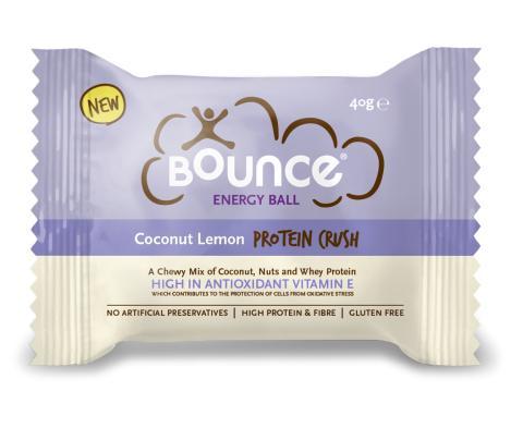 40220 Bounce balls kokos & sitron single pack