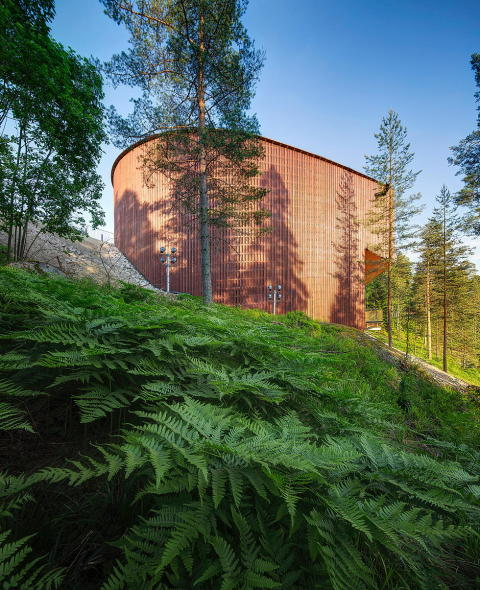 Lahdelma & Mahlamäki Architects, Finnish Nature Centre, 2013.