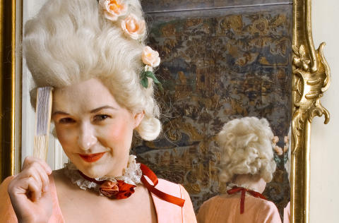 Fest igennem på Nationalmuseet - som de dekadente i 1700-tallet