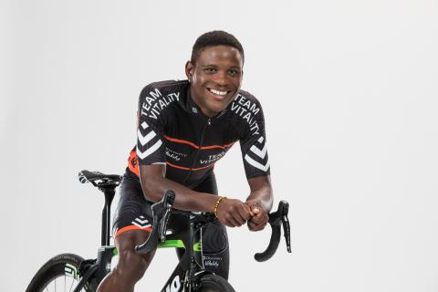 Nicholas Dlamini, Team Dimension Data for Qhubeka