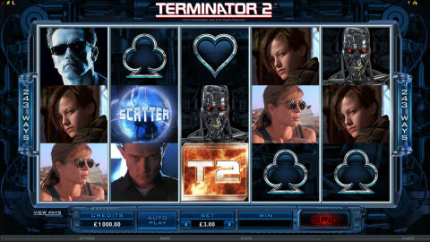 Terminator 2 Judgement Day Slot Game Launches at Lucky Win Slots | LuckyWinSlots.com