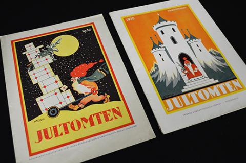 Tomtar i arkivet - tidningen Jultomten finns i TAM-arkiv