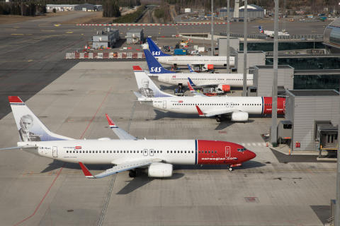Records in June and good figures for the first six months — an excellent trend for Norwegian aviation