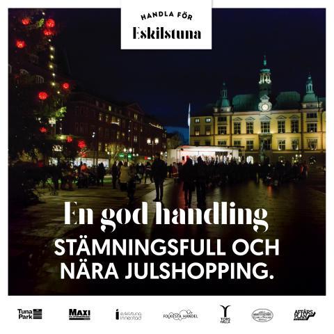 Unikt samarbete mellan handelsplatserna i Eskilstuna genom Affärsplan Eskilstuna