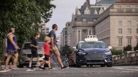 Ford testet autonomes Fahren in Washington