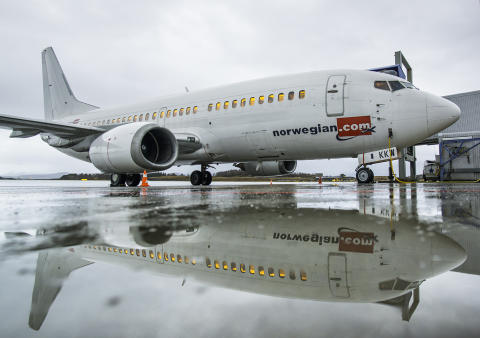 LN-KKW lander i Bodø.