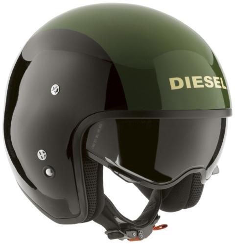Mc-hjälm Diesel Hi-Jack Green