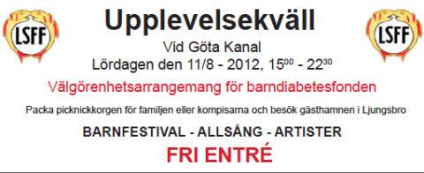 Upplevelsekväll i Malfors 11 augusti 2012
